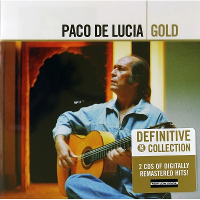 Paco De Lucia - Gold (Remastered) 2xCD